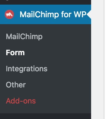 MailChimp for WP Forms