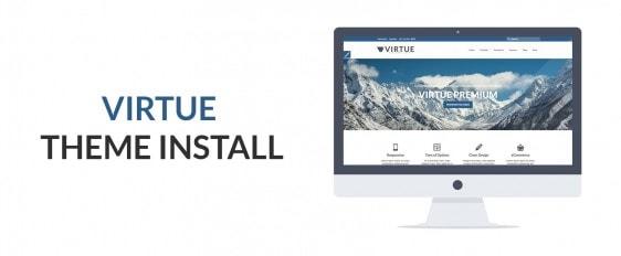 Installing Virtue Premium