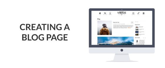 Creating a Blog Page