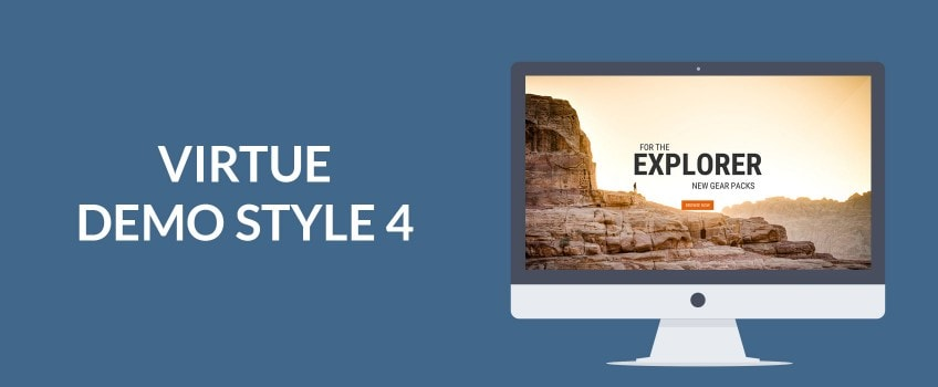 Creating a Demo 4 Layout Homepage