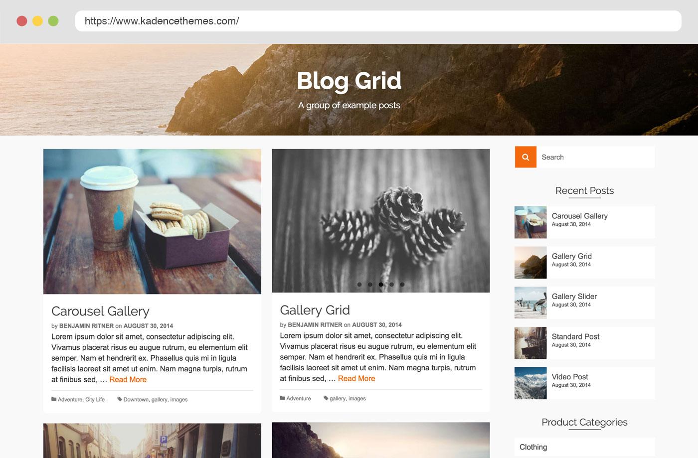 Pinnacle - Free Wordpress Theme by Kadence Themes