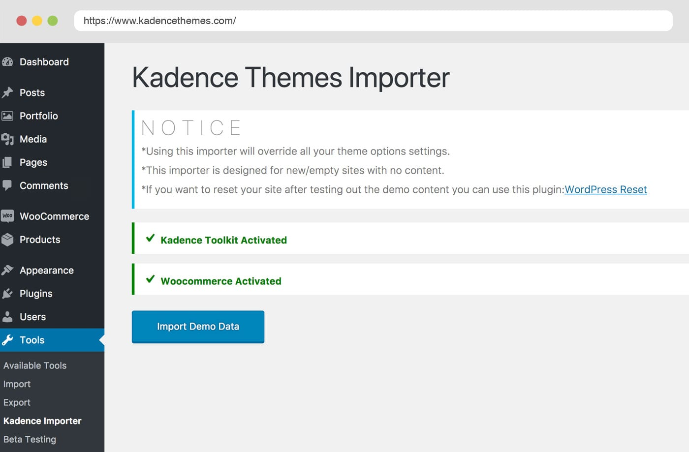 pinnacle free wordpress theme by kadence themes