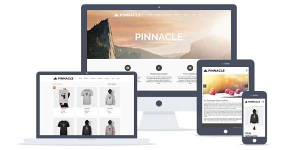 Pinnacle Free WordPress Theme