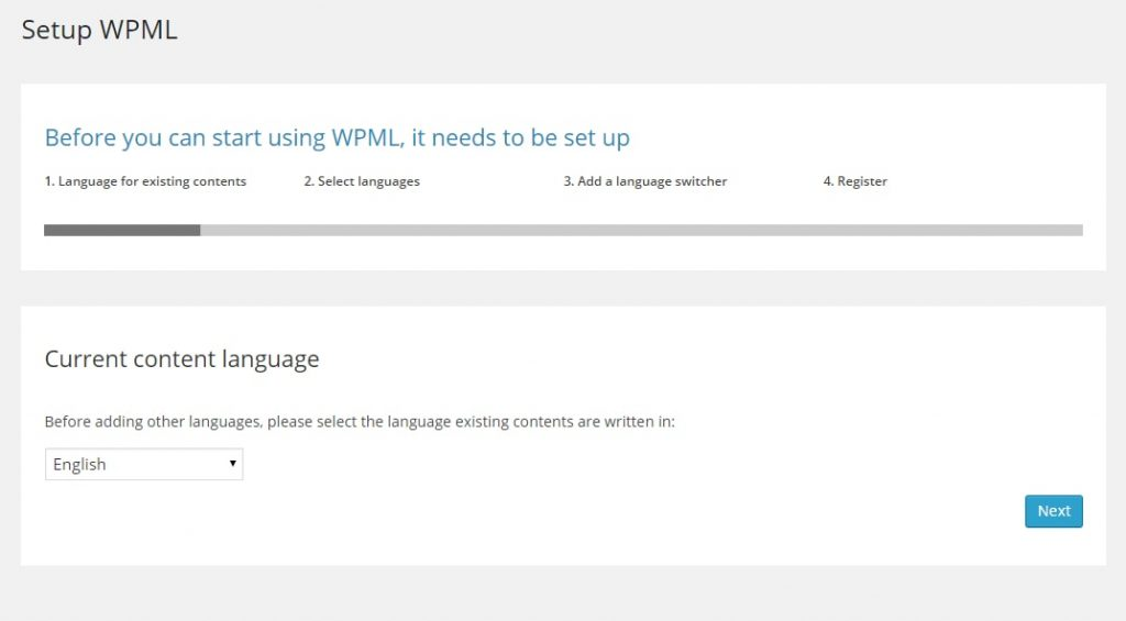 wpml current language settings