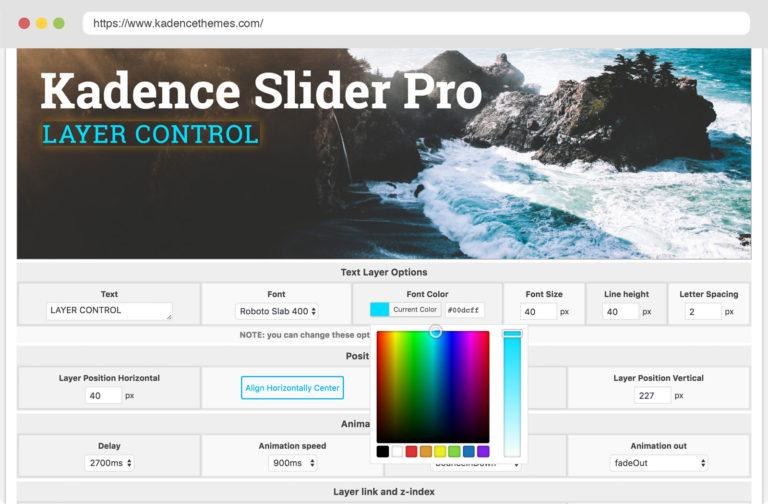 Kadence Slider Pro