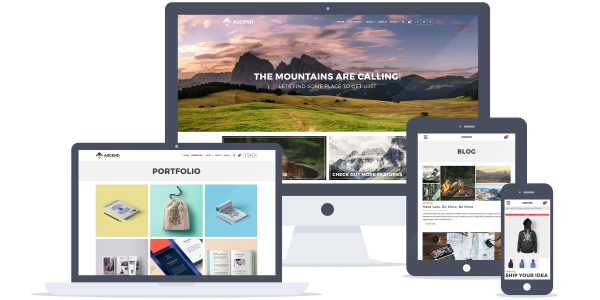 Ascend Free WordPress Theme