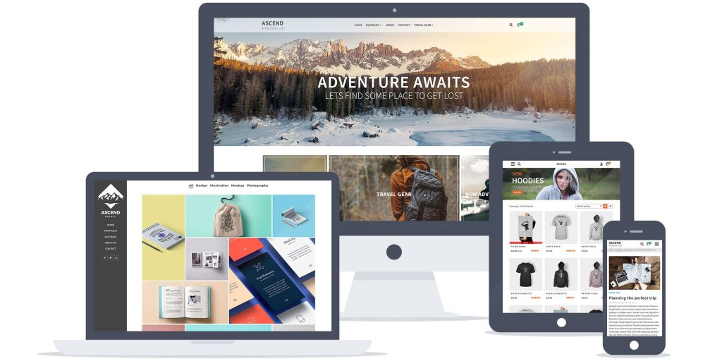 Ascend Premium WordPress Theme