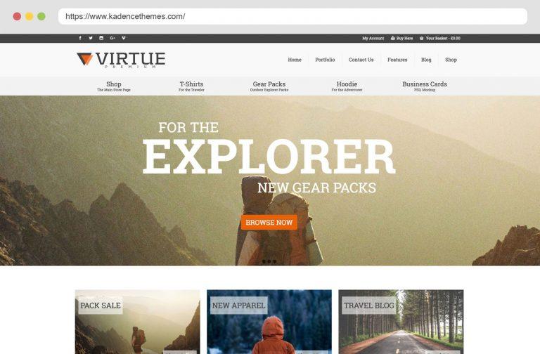 Virtue Premium WordPress Theme - by Kadence Themes