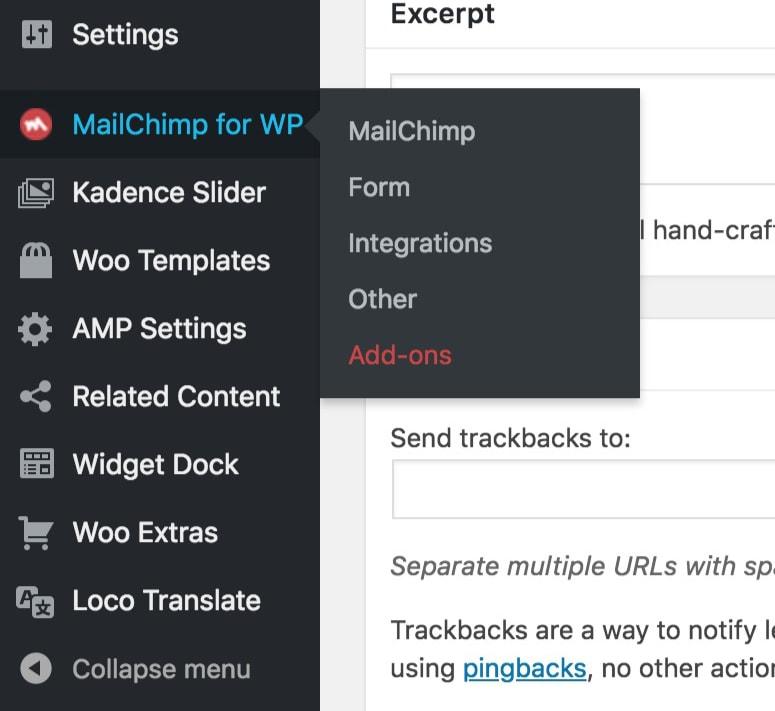 mailchimp-for-wordpress-admin-kadence-themes