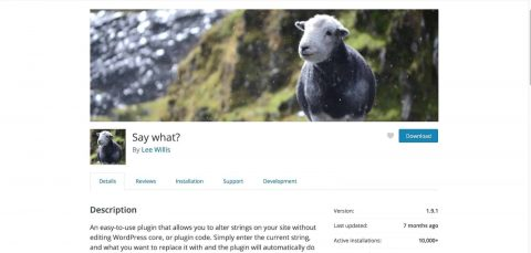 SayWhat-Plugin-Featured-Image