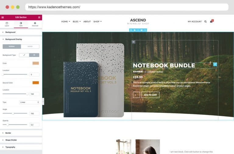 woocommerce products block